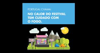 """<p><strong>Guia de conduta (para turistas)</strong>– """"No calor do festival tem cuidado com o fogo.""""</p>"""